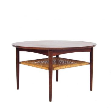 Rosewood danish design coffee table