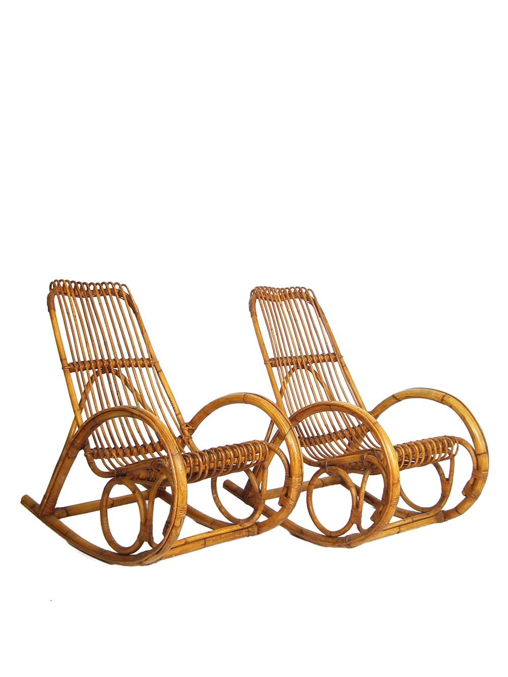 rocking chair style franco albini