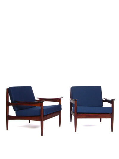 Rosewood Danish style armchairs