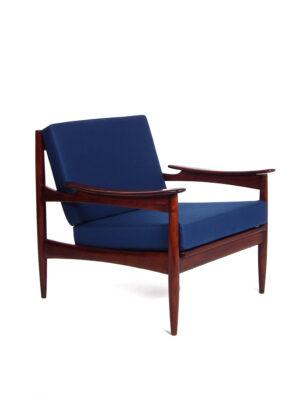 Pallisander deense stijl fauteuil
