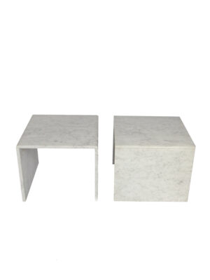 marble sidetables