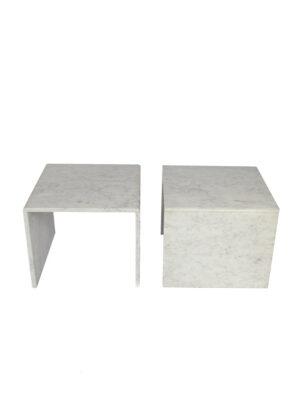 marble sidetables