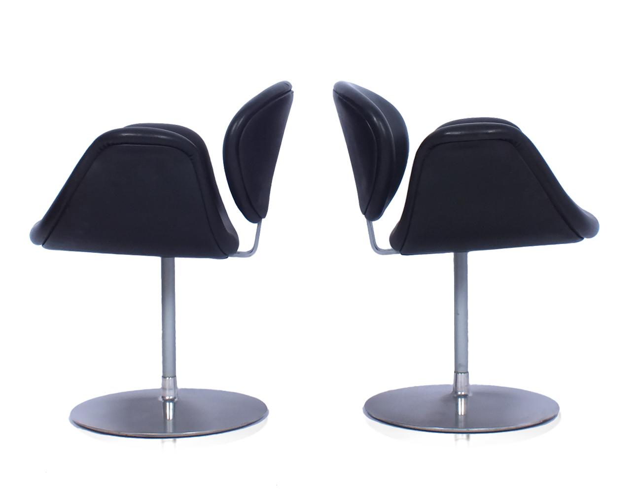 Vintage sixties lounge armchairs artifort geoffrey etsy