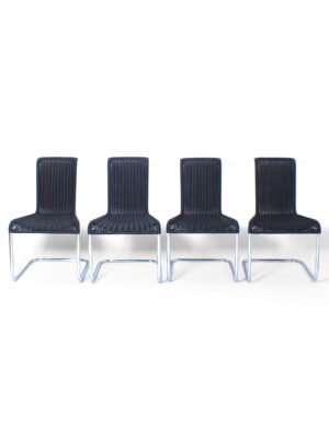 Set of 4 tecta chairs
