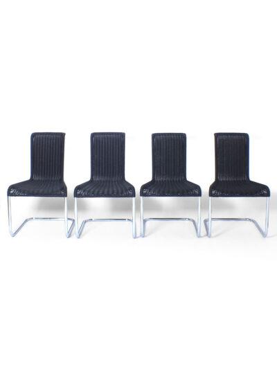 Set of 4 tecta chairs