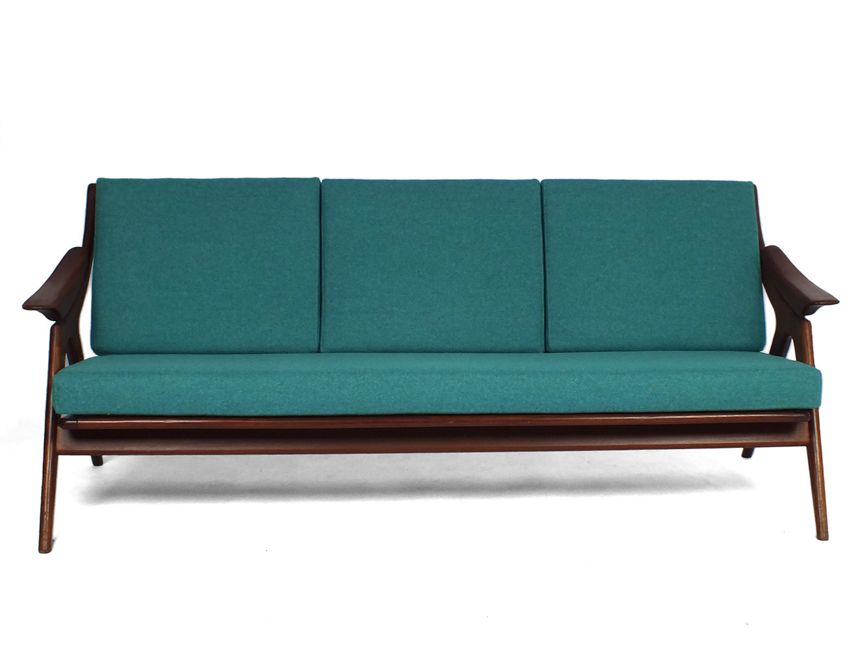 Topform Design Bank.50s Three Seater Sofa Topform