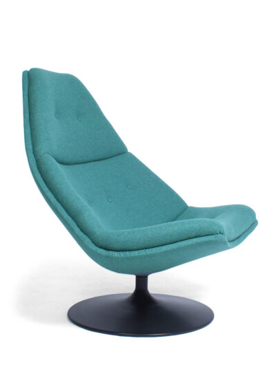 Lounge chair model F591 – G. Harcourt – Artifort