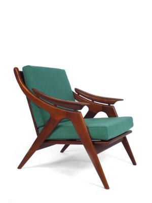 Teak lounge chair 50s