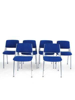 6 Gispen stoelen - A.R. Cordemeyer