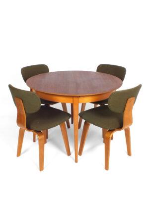 Ronde uitschuifbare tafel - Pastoe - Braakman