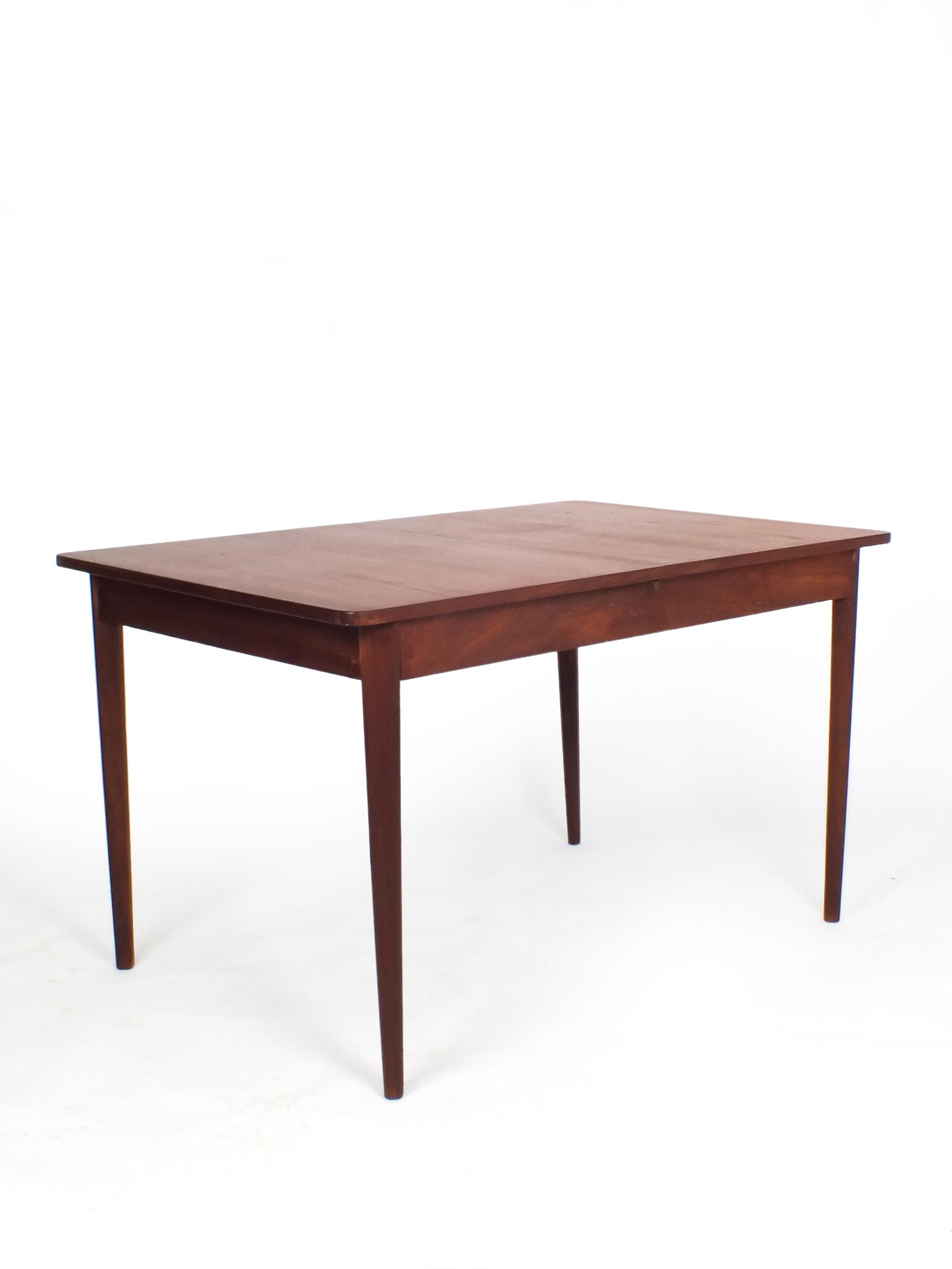 Eetkamer Tafel Teak.Teak Wood Extendable Dining Table Probably Dutch Vaen