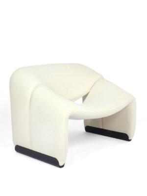 Witte M-chair - Artifort - P. Paulin