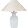 Set glazen tafellampen