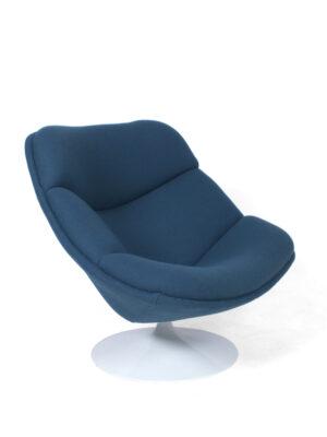 Lavendel blauwe Artifort stoel - P. Paulin