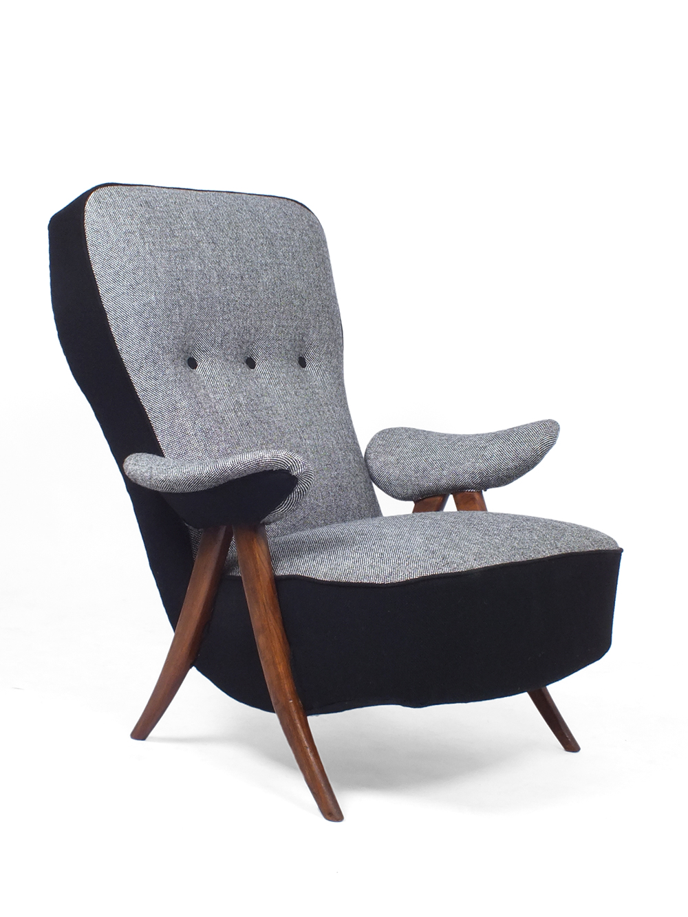 Fauteuil Model 107 - Theo Ruth - Artifort