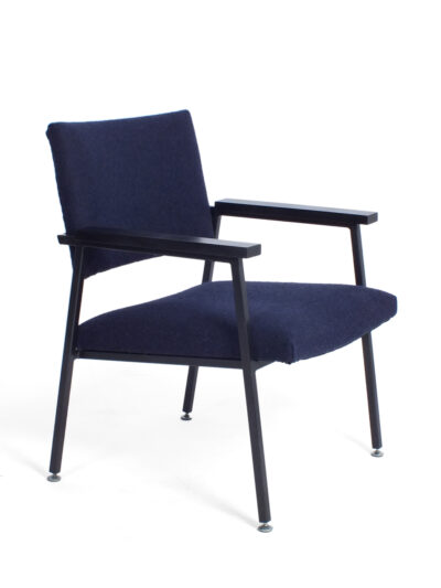 Donkerblauwe fauteuil Gispen Z10