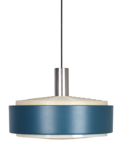 blauwe philips lamp