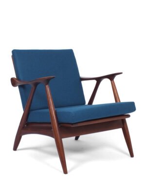 Teak lounge stoel - Gelderland De Ster