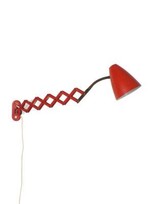 Rode schaarlamp - Hala Zeist