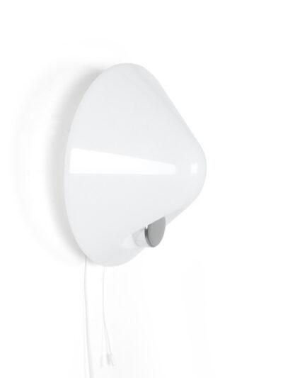 wit kunststof wandlamp