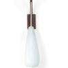 Glazen wandlamp fifties
