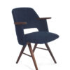 Set donkerblauwe Pastoe stoelen