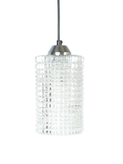 glazen hanglamp 50s