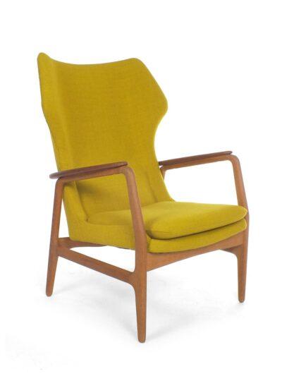 Gele Bovenkamp stoel – Aksel Bender Madsen