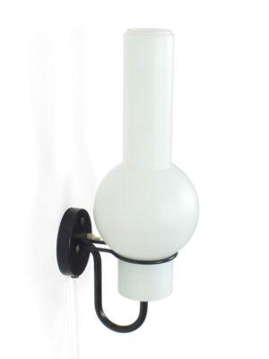 Glazen wandlamp