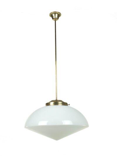 Glazen hanglamp fifties