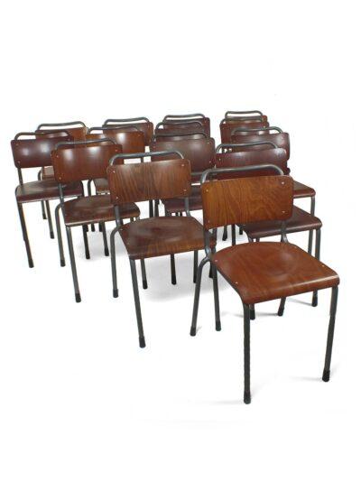 Gispen stoelen model 106 voor TU Delft