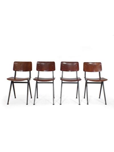 set marco stoelen - schoolstoelen